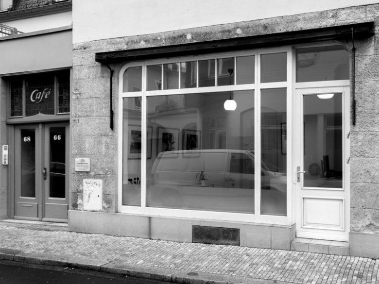 p66.gallery - Außenansicht