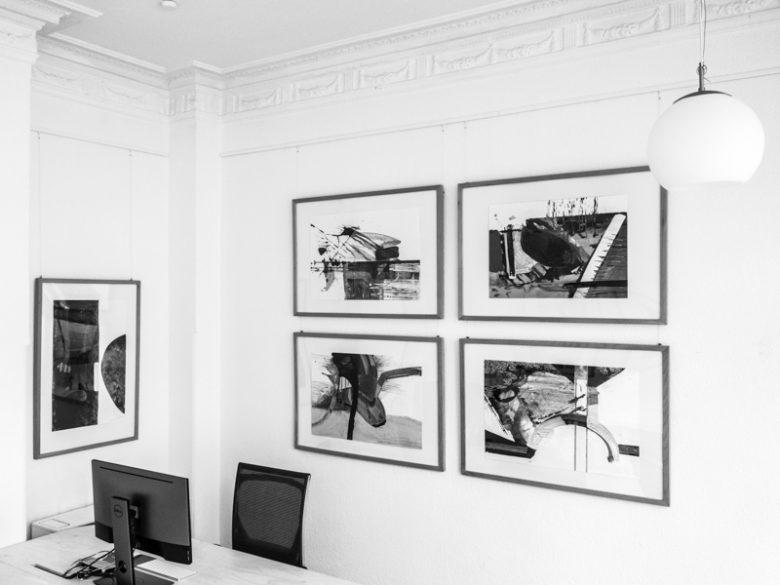 p66.gallery - Ausstellungsansicht - Sándor Dóró - Geometrie des Raumes
