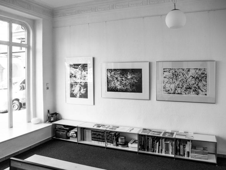 p66.gallery - Ausstellungsansicht - Kerstin Franke-Gneuß - Sprung
